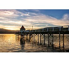 Akaroa Aglow Photographic Print