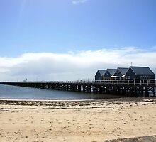 Busselton jetty by Fizzgig7