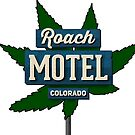 Marijuana Roach Motel Colorado by MarijuanaTshirt