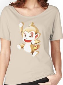 Pokemon Chimchar Cheers  Women's Relaxed Fit T-Shirt