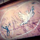 graffiti peace by greg angus
