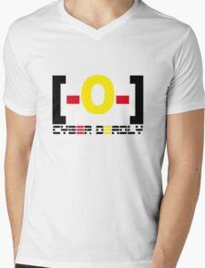 CYBER DEADLY [-0-] Mens V-Neck T-Shirt