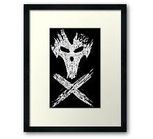 X-BONES Framed Print