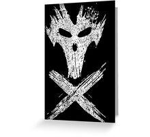 X-BONES Greeting Card