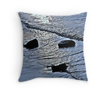 Blue River Throw Pillow
