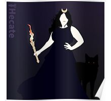 Hecate Goddess of Witchcraft Poster