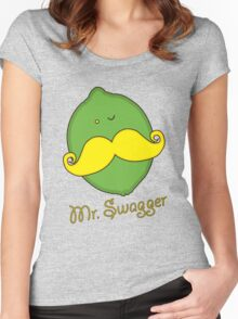 Mr Swagger Women's Fitted Scoop T-Shirt