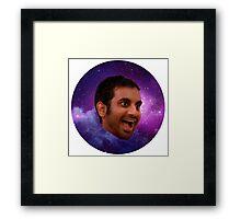treat yo self galaxy Framed Print