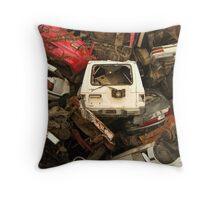 Wrecked Throw Pillow