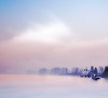 Fog on the Fraser #1 by Carolann23