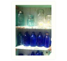 Jars & Bottles Art Print