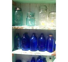 Jars & Bottles Photographic Print