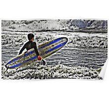 Let´s Surf Poster