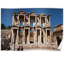 Great Library of Celsus Poster