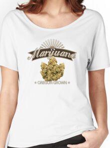 Marijuana Oregon Grown Women's Relaxed Fit T-Shirt