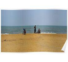 BEACH BIKES 3. SRI LANKA. Poster