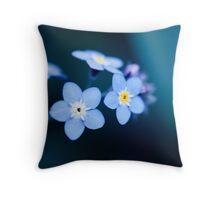 Feelin' Blue Throw Pillow