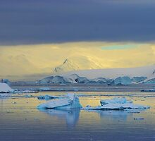 Morning Light, Antarctica by John Dalkin