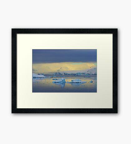 Morning Light, Antarctica Framed Print