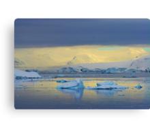 Morning Light, Antarctica Canvas Print