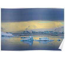 Morning Light, Antarctica Poster