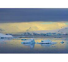 Morning Light, Antarctica Photographic Print