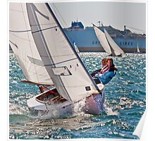 St Mawes One Design Dinghy Poster