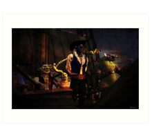 A Pirate's Life for Me Art Print