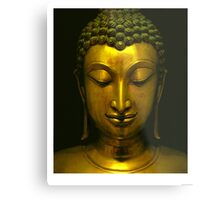 Buddha contemplation on meditation in Zen Metal Print