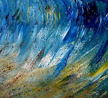 We are waves of the Ocean of Bliss by Elizabeth Kendall