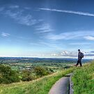 View from the Tor by Nigel Bangert