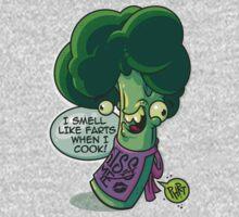 Broccoli Farts One Piece - Long Sleeve