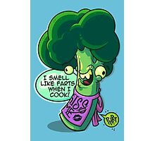 Broccoli Farts Photographic Print