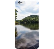 Reflection on the lake iPhone Case/Skin