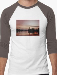 Pink Sunset, Manitoba Men's Baseball ¾ T-Shirt