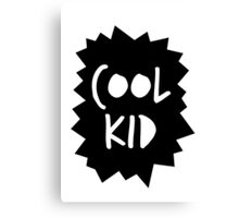 Cool Kid Canvas Print
