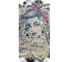 GIrl Power Mandala Design iPhone Case/Skin