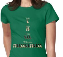 1, 2 skip a few Womens Fitted T-Shirt