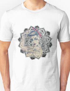 GIrl Power Mandala Design Unisex T-Shirt
