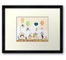 Kindergarten Framed Print