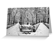 Two paths Greeting Card