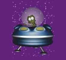 little Alien Lost in Space by Declan Carr