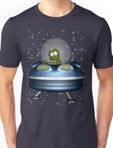 little Alien Lost in Space Unisex T-Shirt