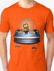 little Alien Lost in Space Unisex T-Shirt