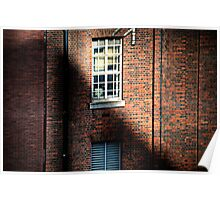 Industrial Shadows Poster