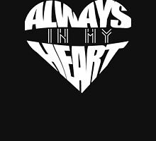 Always In My Heart - white Women's Fitted Scoop T-Shirt