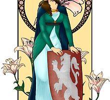 Elaine of Astolat by astolat