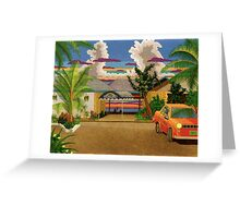 "Rick""s Cafe. Greeting Card"
