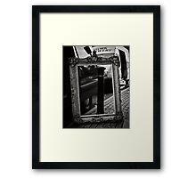 Yes, but is it ART? Framed Print