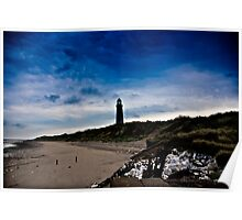 Early Morning at Spurn Point Poster